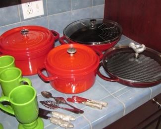 Induction ware, cast iron