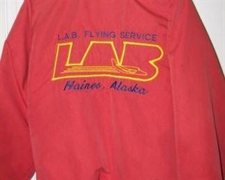 Vintage Alaska - Flying service jacket.