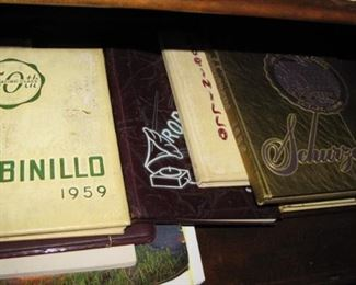 Vintage yearbooks, HS, Military school and more.