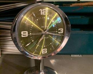 Retro cool Big Ben chrome alarm clock