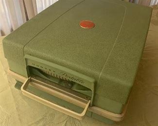 Hoover portable vintage vacuum