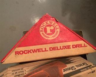 Rockwell power drill in original box