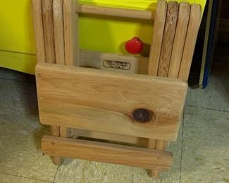 Unique folding stool