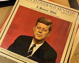 John F Kennedy memorial album