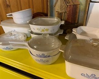Lots of corningware