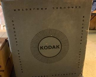 Kodak slide carousel