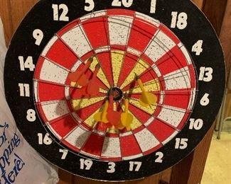 2 side dart board