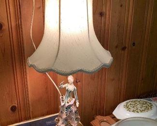 Beautiful figural lamp