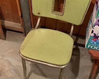 Unique green chair