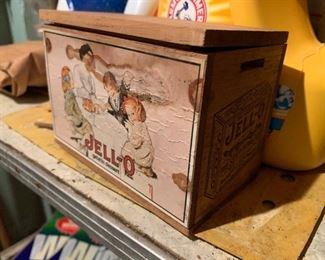 Jello recipe box
