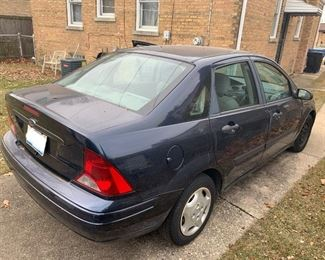 2003 Ford Focus with 138k miles
