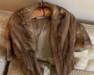Mink shawl