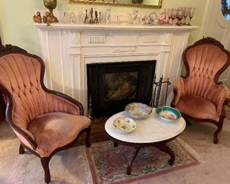 Beautiful Victorian Chairs