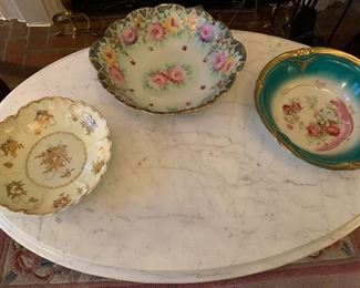 Lively Antique Painted  China