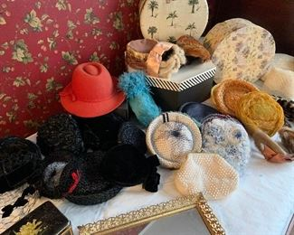 Vintage Hats and Boxes