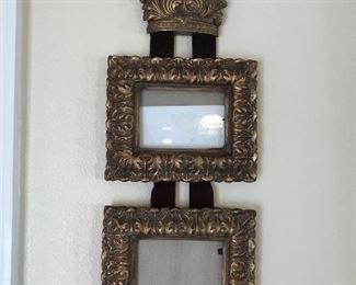 Gilt, wood frame