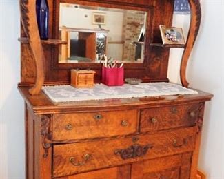ANTIQUE BUFFET WITH GREAT STORAGE
