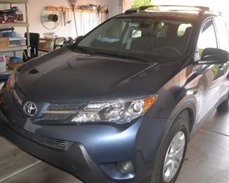 2014 TOYOTA RAV 4 LE WITH LESS THAN 23K MILES!  ACCEPTING SEALED BIDS - STARTING BID $12,999.99 .  SEE MAIN DESCRIPTION FOR VIN.  MAINTENANCE FILE AVAILABLE