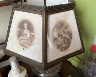 Lithopane lamp