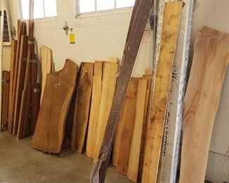 Raw natural Edge Hard Wood