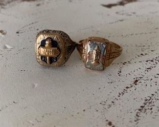 Vintage  class rings