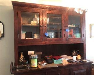 Vintage Hoosier Cabinet
