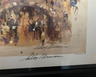 ReRoy Neiman (1921- 2012) - Hand Signed Numbered by the Artist