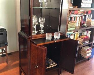 Beautiful Vintage Bar Cabinet