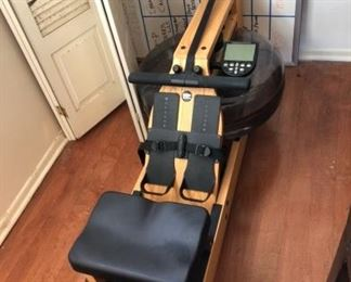 WaterRower Rowing Machine in Cherry Wood - Excellent Condition