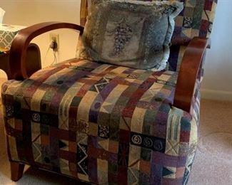 Danish Upholstered Chair