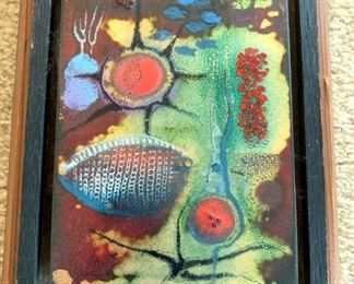 Alma Goetch Enamel on Copper