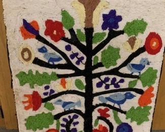 Mid Century Yarn Art