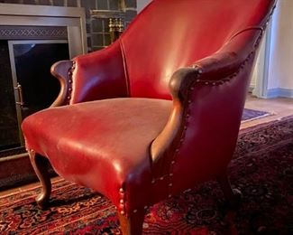 Leather Chair Front