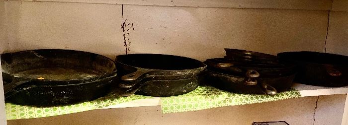 Cast Iron Skillets: Griswold, Wagner, SK and more.