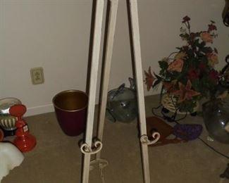 4' tall easel
