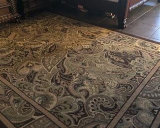 room sized rug. has matching runner