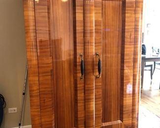 """Storage cabinet - 27-1/2"""" D x 80""""H x 49-1/2""""W - $350"""