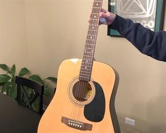 Fender Squier acoustic guitar....