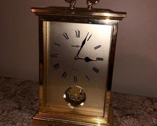Howard Miller small mantle clock