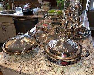 Silver-plated treasures