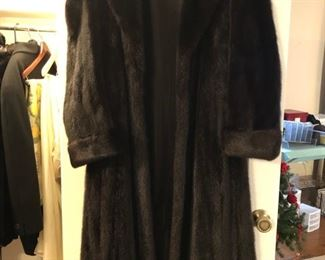 Gorgeous mink coat