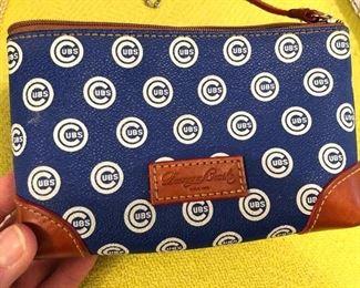 Dooney & Bourke Chicago Cubs wristlet