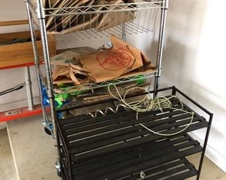 Shoe rack and storage rack