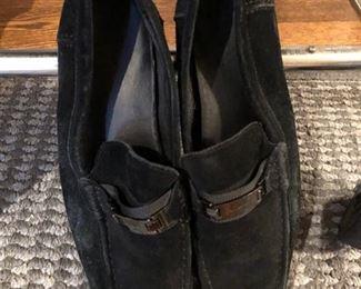 Ferragamo suede shoes
