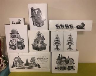 Department 56 Christmas houses