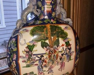 Large Asian vases......