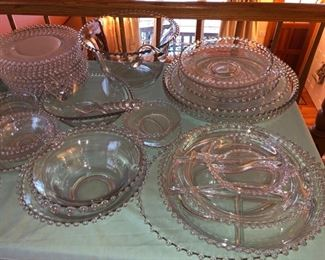 Imperial Glass candlewick treasures........!