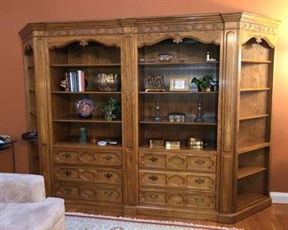 Hickory Manufacturing wall unit.....