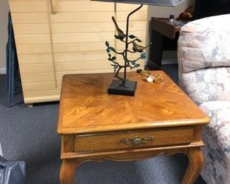 Hickory Manufacturing end table with drawer
