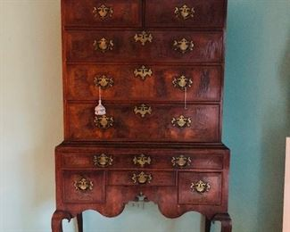 Antique Chippendale Highboy 1 of 2